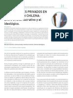 Orellana,Victor-Gajardo, Fabián - Los Intereses Privados en la Educacion Chilena. Entre el Afan Lucrativo y el Ideologico