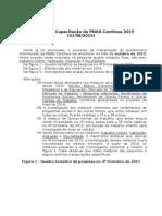 Treinamento Da PNAD Contínua 2015 21 08 2015