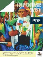 Informe Sobre Pueblo Lenca Organizado Al COPINH