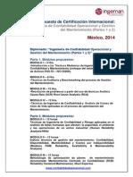 Propuesta Diplomado Partes 1-2-2014 Mexico 2sesiones