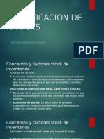 Presentacion Gestion Empresarial Minera - Tema 20 Clasificacion de Stocks