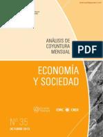 ECONOMIA Y SOCIEDAD - N 35 - OCTUBRE 2015 - PARAGUAY - PORTALGUARANI