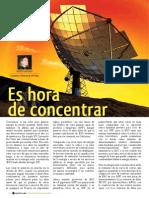 Paneles Solares Concentracion