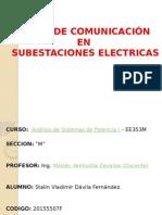 Redes de comunicación en subestaciones