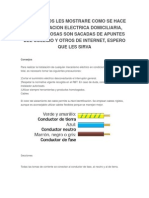 INSTALACION ELECTRICA DOMICILIARIA