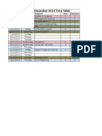 Dec-2014 Time Table