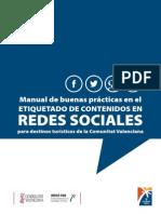 Manual etiquetado contenidos redes sociales