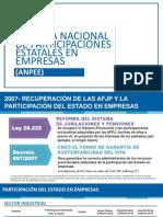 ANPEE Agencia Nacional de Participaciones Estatales en las Empresas - Argentina