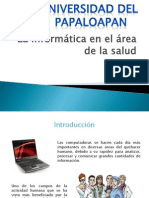La Informatica en El Area de La Salud
