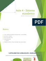Aula 4 - Sistema Econômico