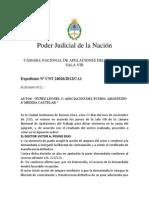Nunez Leonel c. Asociacion Del Futbol Argentino s. Medida Cautelar