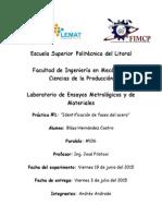 Practica 2 Materiales de Ingeniería ESPOL