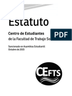 Estatuto Del CEFTS - 2015