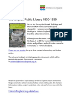 The English Public Library 1850-1939