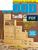WOOD Magazine June July 2015 Gabinete