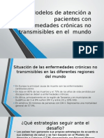 Modelos de Atención a Pacientes Con Enfermedades Crónicas