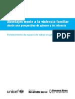 Abordajes Frente a Violencia Familiar
