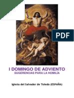 I Domingo de Adviento - sugerencias para la homilía