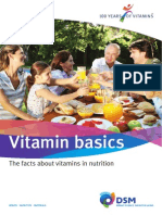 Vitamin Basics the Facts About Vitamins in Nutrition