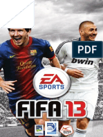 Fifa-13-Manuals Microsoft XBOX360 Fr