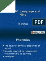 Phonetics 1