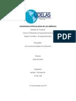 Monografia- Las Nuevas Tecnología en Educación