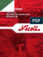 Manual Tuberia Pvc -u 21138 Tdpe Corrugado Impr