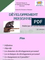 Developement Personnel