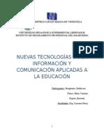 Tecnologías de la Información y la comunicación, su uso en la educación