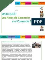 Web quest de sociedades