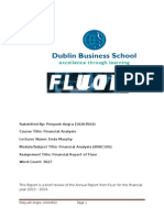 Fluor Financial Analysis