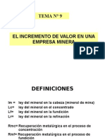 Tema 9-2012-II Incremento de Valor Procesos