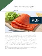Bagaimana Membedakan Ikan Salmon Yang Segar Dan Tidak