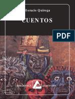 antologia quiroga