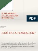 planeacion interactiva
