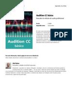 Audition Cc Basico