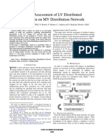 Impact Assessment of LV Networks Into MV Networks