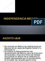 Independencia Mexico