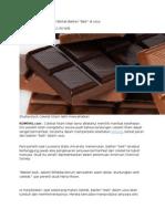 khasiat cokelat