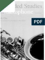 80 Graded Studies for Saxophone Bk 1