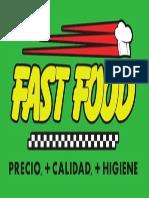 ETIQUETA FAST FUD