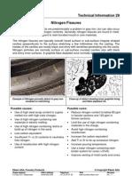 Nitrogen Fissures