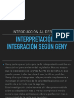 interpretaion e integracion segun grey