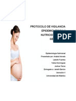 Protocolo Vigilancia Nutricional Gestantes