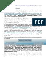 Teoria Das Incapacidades - Cláudio Henrique Ribeiro Da Silva