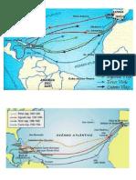 Mapa Mundi- Viajes de Colon