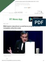 NSA End Survellent