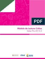 Ifes..... Lectura Critica Saber Pro 2015 2