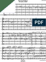 Fuga Con Pajarillo Score Parts