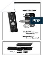 Manual URC-7340